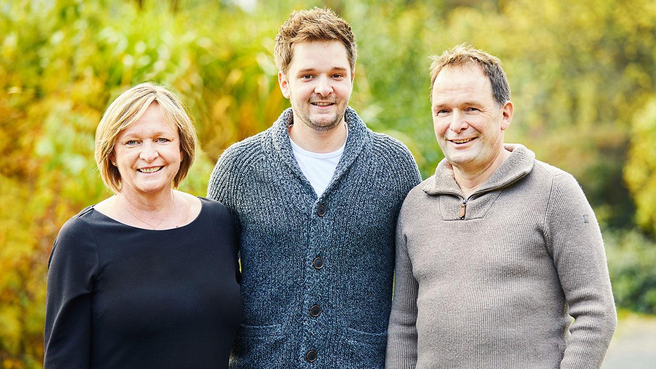 Martina, Alexander & Karsten Hess