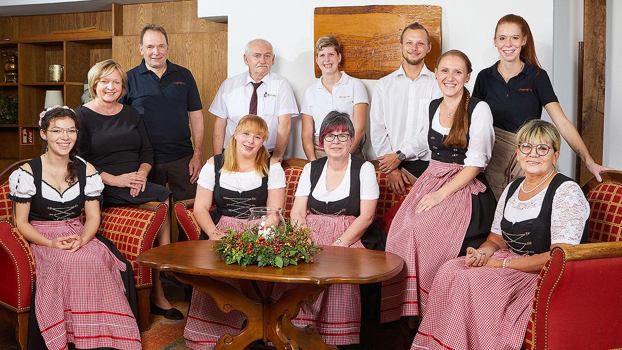 Das Team des Landgasthof Hess