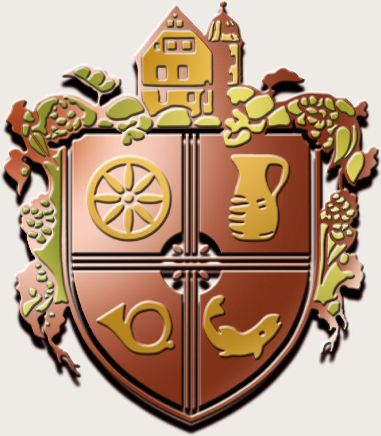 Das Wappen des Landgasthofes Hess